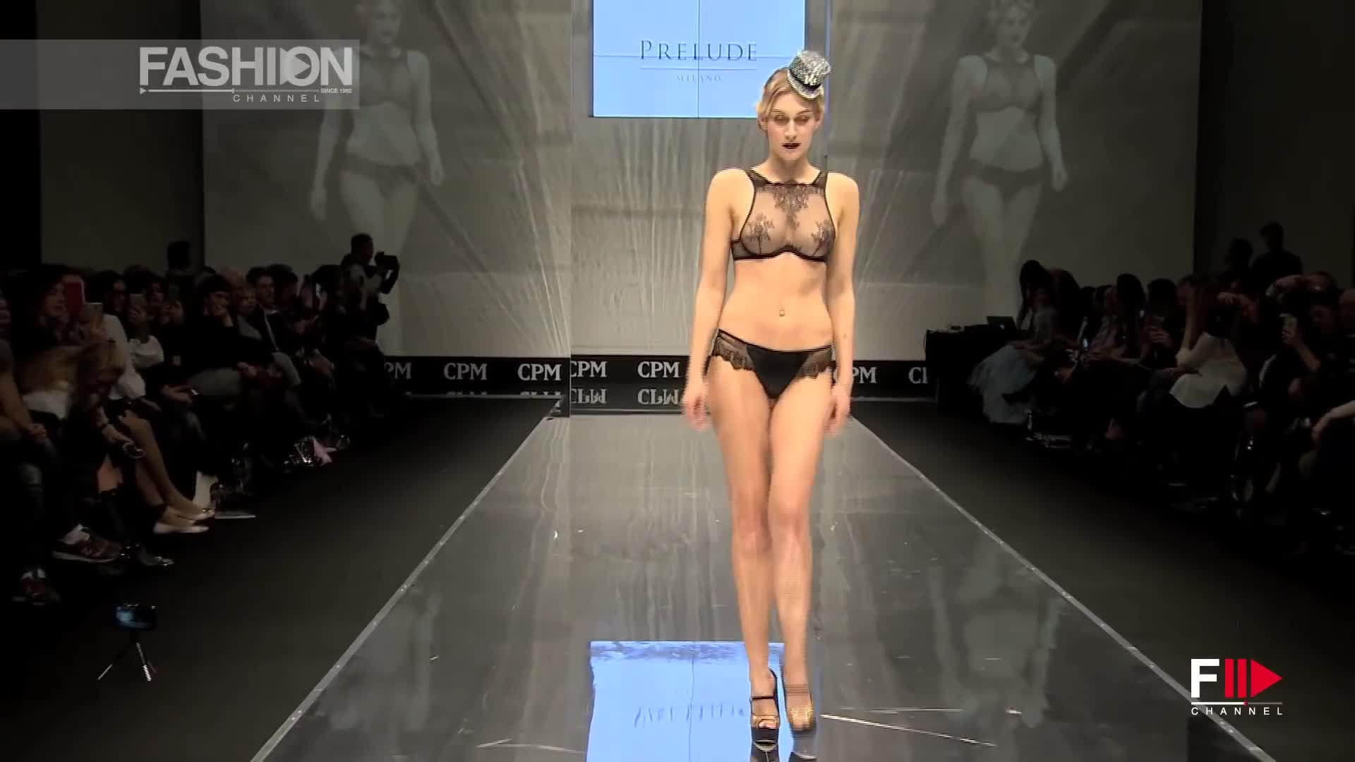 PRELUDE Grand Defile Lingerie & Swim Fall 2017 Moscow - Fashion Channel
