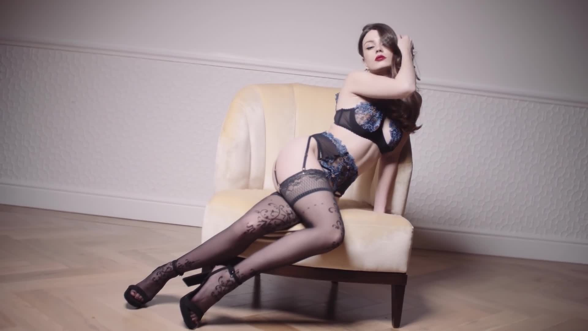 "Lingerie Model Video in London - ""IDLE X Anna Zapala #1"""